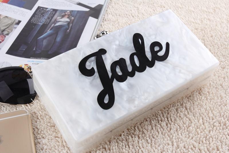 Abendtaschen 2016 Neue Designer-kupplung Berühmte Marke Frauen Kupplung Umschlag Abend Perle Personalisierte Benutzerdefinierte Handmade Fashion Acryl Kupplung