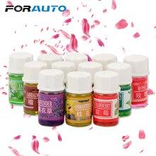FORAUTO 12 Pcs/set Car Perfume Natural Essential Oil Fragran