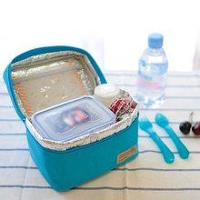 Портативная изолированная сумка Picnin, Термосумка для пикника, Портативная Сумка для кемпинга, спорта, путешествий, для женщин, детей, мужчин, одноцветная коробка для ланча