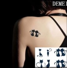 (Min Order $0.5) Temporary Tattoo Flash Gold Fake Tatto Golden Metallic Metalic Flash Tattoo Waterproof Stickers WM164