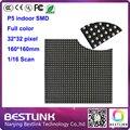160*160mm 32*32 pixels de 1/8 de Digitalização 3in1 RGB full color P5 Interior módulo de LED para interior display LED tela