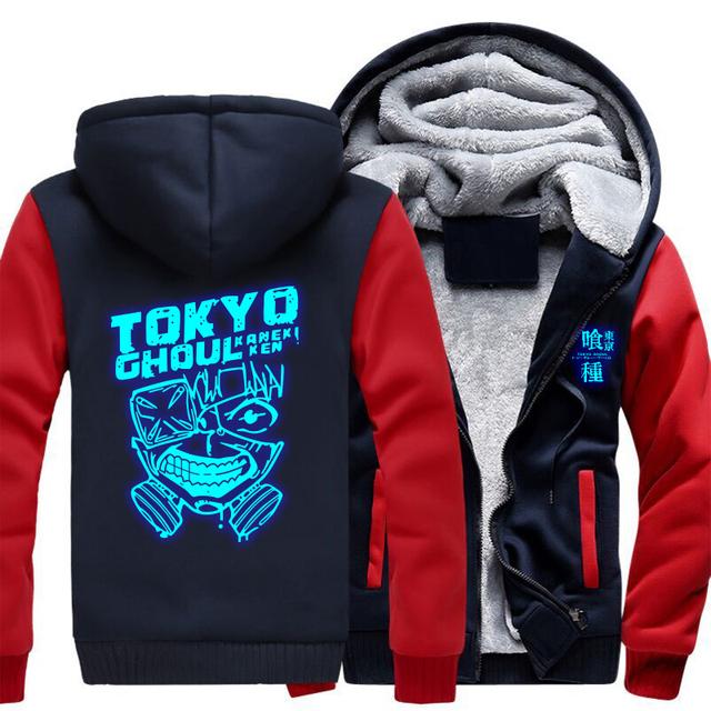 Tokyo Ghoul Ken Kaneki Luminous Jacket Sweatshirt