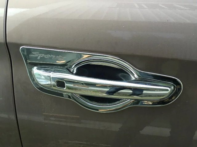 Auto chrome accessories,door handle cover and door bowl trim for Elantra  2016,ABS chrome,free shipping