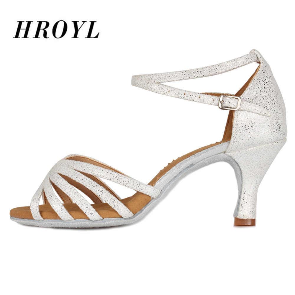 Sıcak Satış kadın Tango/Balo/Latin Dans dans ayakkabıları Topuklu Salsa Profesyonel dans ayakkabıları Kızlar Bayanlar Için 5cm /7cm