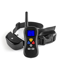 все цены на PET008 Dog Training Collar Remote Control 330 Yard 16 Level Vibra Electronic Waterproof with Safe Beep Vibration Shock for 1 dog онлайн