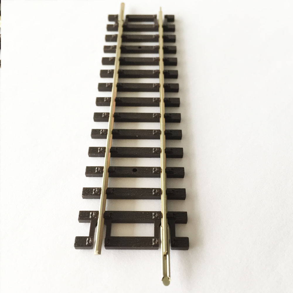 HO scale Train 1 87 rail Railroad Layout 3pcs Track General train track scene game model essential accessories in Model Building Kits from Toys Hobbies