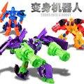 2016 New Arrival 3 estilos Brinquedos Transformação Robô Figura de Ação de Plástico do carro Modelo de carro de Brinquedo Presentes Para O Menino & Kids atacado