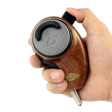 New 4 Pin Woodgrain Noise Canceling Microphone HG-M84W for Cobra Radio Walkie Talkie