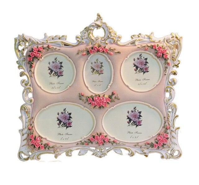 Familia marcos para fotos fotos de varios rosa marcos de cuadros ...