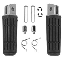 Front Footrest Foot Pegs Pedals For YAMAHA FJR 1300 FZ1 FZ400 FZ6R XJR400 YZF 1000 R1