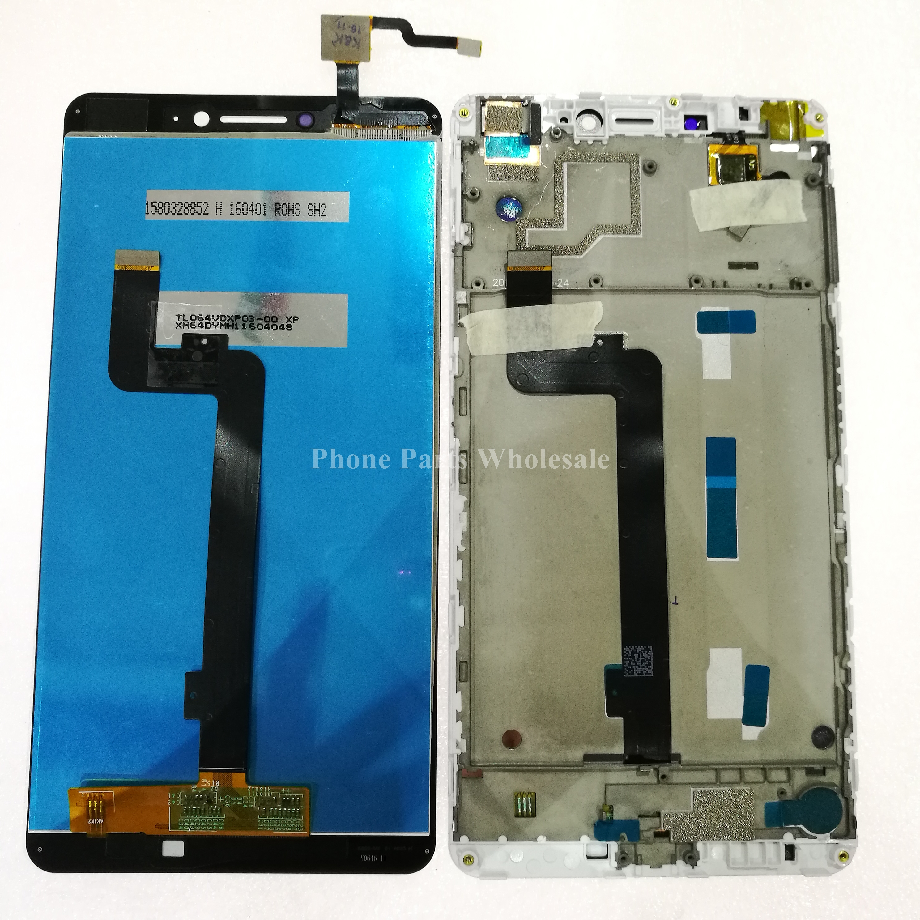 Tested LCD Display Touch Screen Digitizer Glass Panel Sensor Cell Phone Parts 6 44inch For Xiaomi