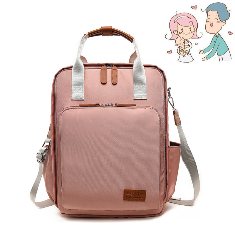 Diaper Bag Backpack For Mom Fashion Mommy Maternity Nappy Changing Traveling Organizer Waterproof Bag Backpack diaper bag fashion mummy maternity nappy changing canvas brand backpack for mom traveling organizer waterproof bags baby care