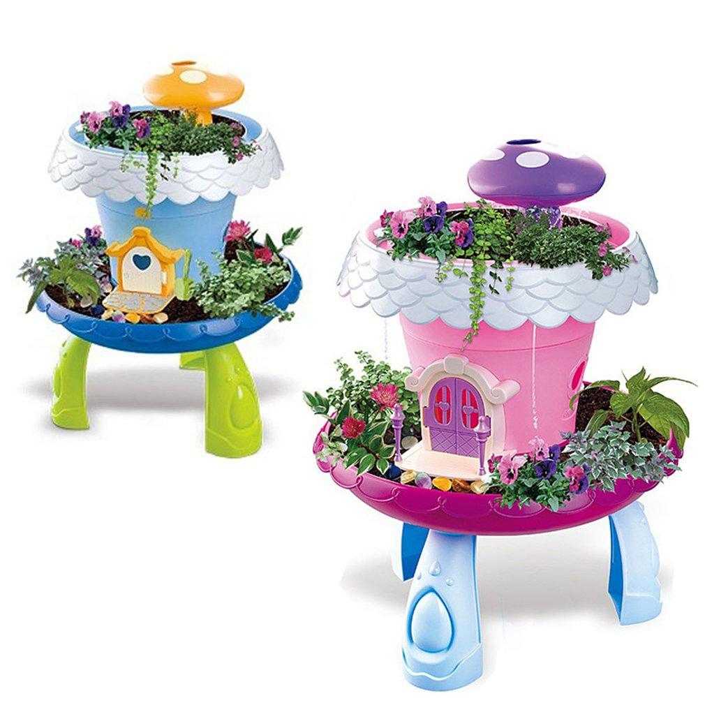Peachy Diy Grass Planting Flowers Light Garden Pretend Play Toy Beutiful Home Inspiration Xortanetmahrainfo