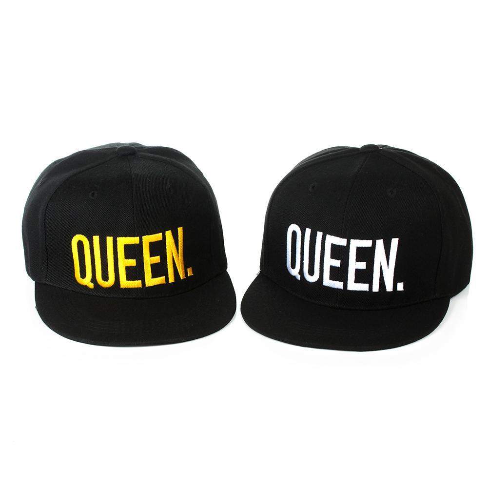 King Queen Letter Embroidery Hip Hop   Baseball     Cap   Snapback Men Women Sun Hat new