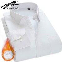 Высокое качество Для мужчин's с флисовой подкладкой зимние теплые флисовые фланель Повседневное толще рубашка Для мужчин расслабленным нуж...
