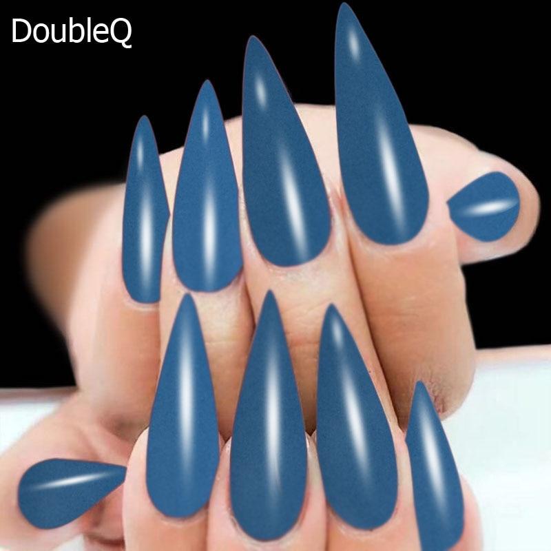 2g/Box Blue Dip Powder Nails Dipping Nails Get Stronger ...