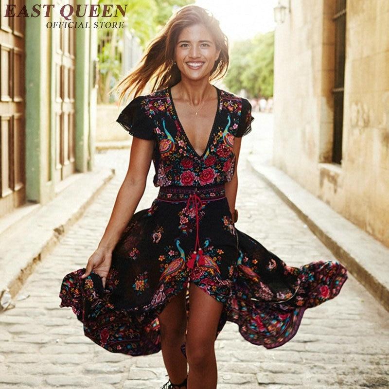Compra larga vestidos mexicanos online al por mayor de
