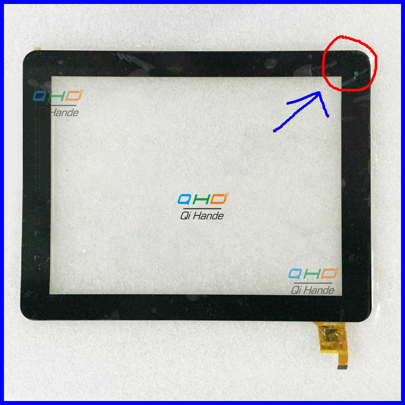 New touch screen For 9.7 inch Explay CinemaTV 3G Touch panel Digitizer Glass Sensor replacement Free Shipping new replacement 7inch capacitance touch screen digitizer panel glass for explay mid 725