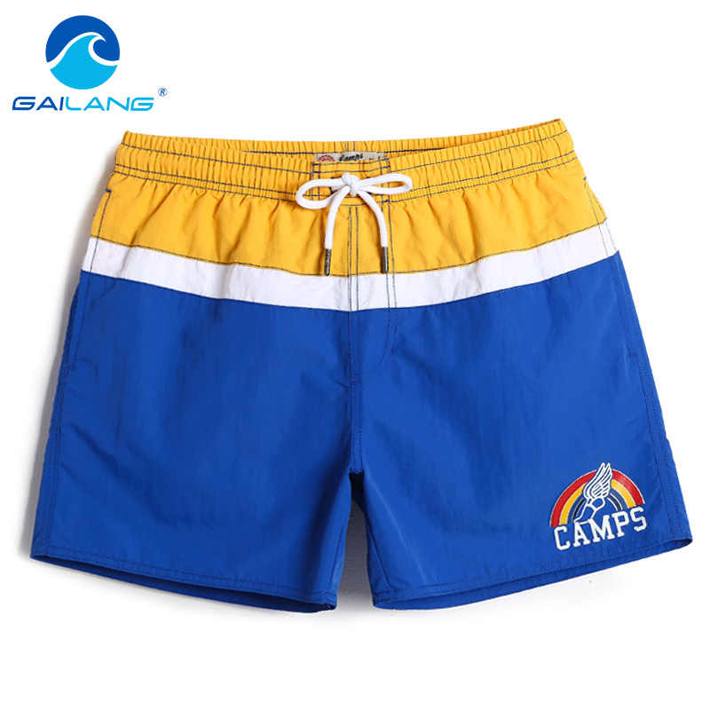 Gailang Brand 2018 New summer mens beach shorts quick dry fashion leisure casual boxer shorts sea Man board shorts big size XXXL