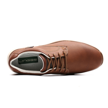 Leather Casual Style Men's Flats