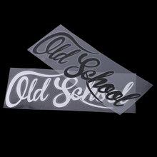 19x7 см виниловые наклейки для старой школы на заказ классические