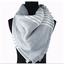 Infinity Scarves For Women Cashmere Shawl Blanket Oversized Tartan Warm Scarf Long Plaid Cozy Striped Pashmina 2016 Winter
