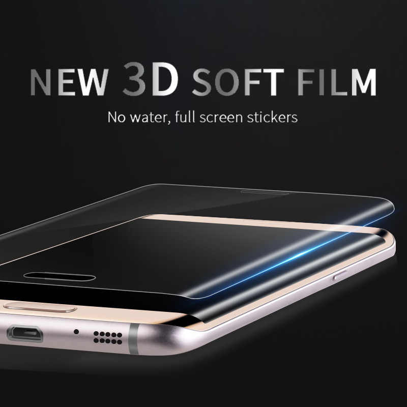 Screen Protector For Samsung Galaxy S8 S9 S10 Plus Note 8 9 Soft Protection Film For Samsung S6 S7 Edge Phone Full Curved Film