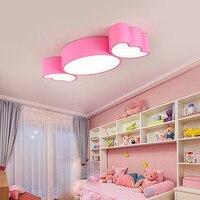 Jardines de infancia para niños  lámparas de techo  dibujo de caramelo  iluminación de dormitorio  lámpara de techo de patio de clase temprana de color creativo