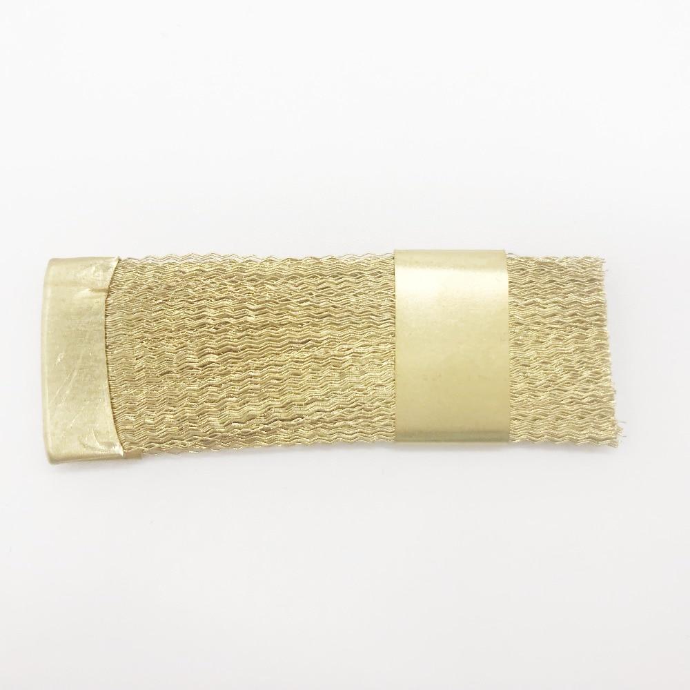Стоматологический материал медная плоская щетка для чистки боров и Стоматологический Продукт для стоматологической лаборатории