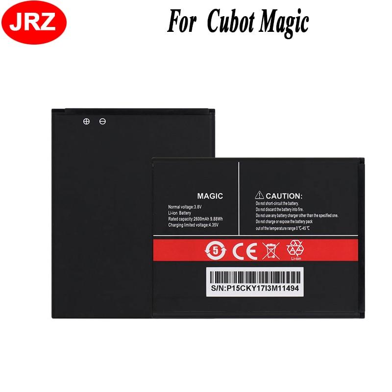 JRZ LOT = 10 pièces pour Cubot Magic Phone batterie 2600 mAh haute capacité 3.8 V Top qualité remplacement Batteries