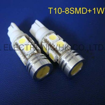 High quality 12V T10 high power led auto light 158 168 194 w5w led Clearance Lights free shipping 50pcs/lot