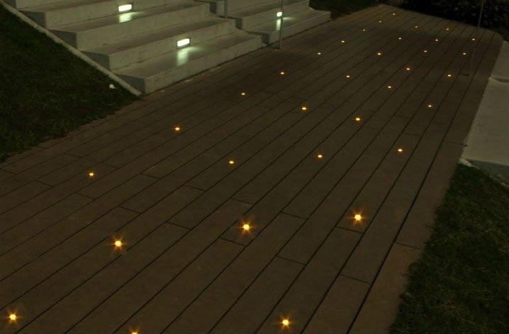 2 шт./лот 12 Вт подземный похоронен свет открытый строительство Сад Двор Path светлое пятно лампы 85-265 В