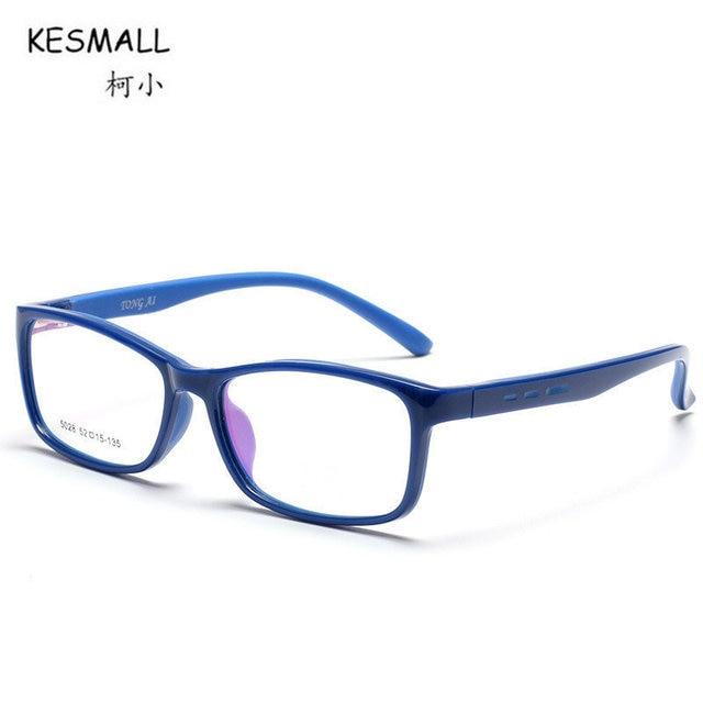 Kesmall nuevos niños tr90 forma cuadrada ojo Gafas Marcos niño chica ...