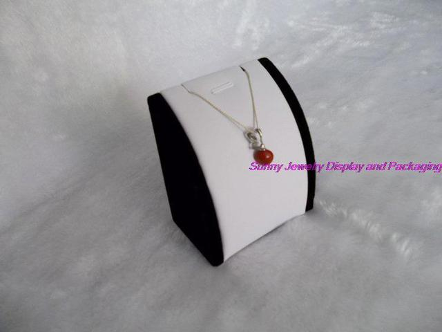 free shipping   promotion Jewelry display pendant display necklace tower display white and black