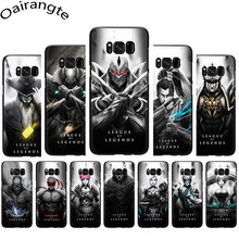 League of Legends lol Hero Soft Phone Cover Case For Samsung Galaxy M10 20 30 S6 7 Edge S8 9 10 Plus Note8 9(China)