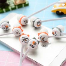 Cute Cartoon Cat Earphone in-ear Earbuds with Mic Universal 3.5mm for iPhone Xiaomi Samsung Lenovo Nokia for Girls Kids Mp3 Gfit