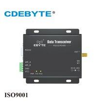 E90 DTU 433C37 semi Duplex haute vitesse Transmission continue Modbus RS232 RS485 433mhz 5W IOT uhf sans fil émetteur récepteur Module