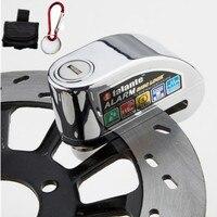 Bike Alarm Disc Lock Anti theft Brake Disc Security Alarm Electron Lock 6mm Pin for Motorcycle Motorbike Safety Bicycle