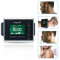 laser therapeutic watch cold laser therapy equipment for high blood pressure and diabetes treatment