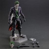 25cm Play Arts Kai Movable Figurine Batman Joker PVC Action Figure Toy Doll Kids Adult Collection