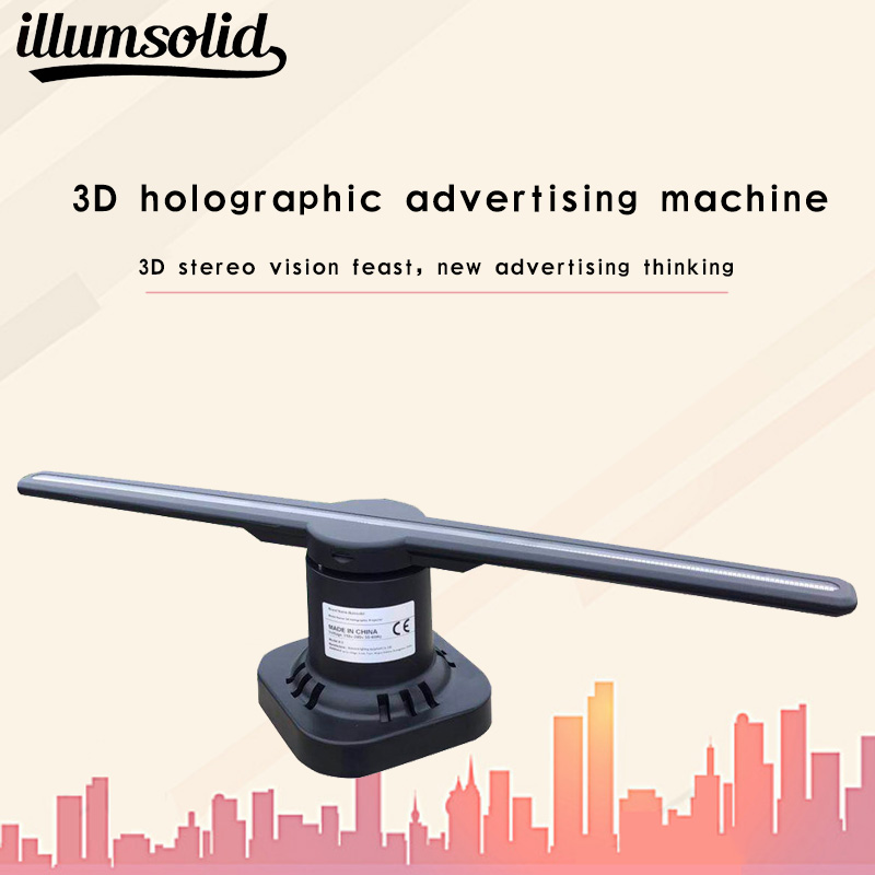 3D Hologram WiFi App Control Advertising Display Led Fan Virtual Reality Hologram Graphics Projection 3D Hologram WiFi App Control Advertising Display Led Fan Virtual Reality Hologram Graphics Projection