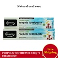 NewZealand Comvita Propolis Toothpaste Fresh MINT Breath Effective Fights plaque decay whiten teeth Perfect for the whole family