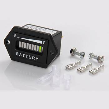 Battery Indicator charge DISCHARGE meter for golf carts electric vehicle scooter toy car marine car 12/24V RL-BI001