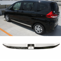 JY SUS304 Stainless Steel Rear Luggage Interior Scuff Trim Protector Car Accessories for HONDA FREED GB5/6/7/8 2016.