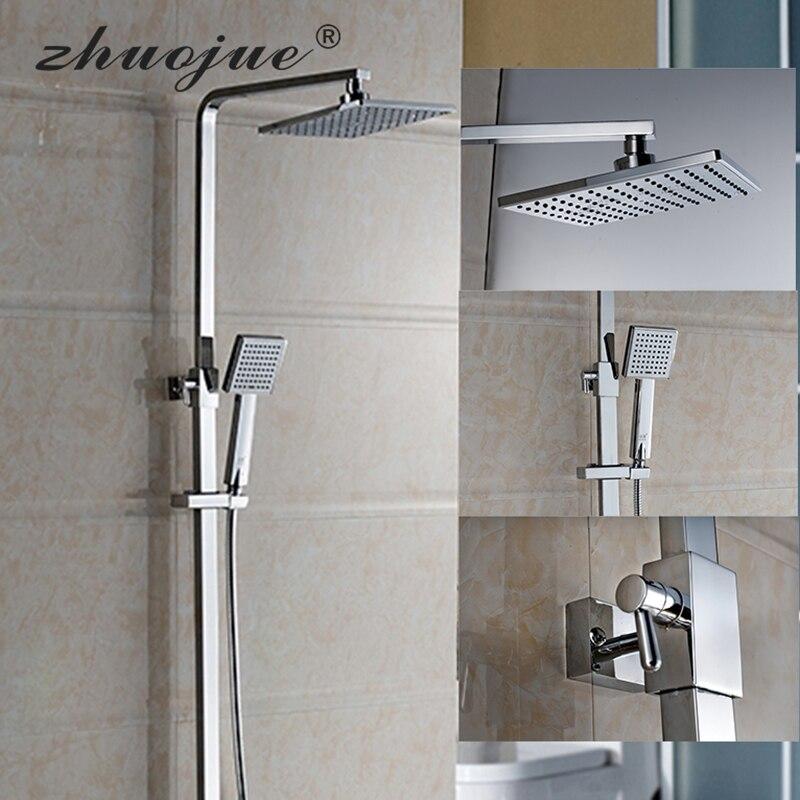 Zhuo Jue Brands Bathroom Shower Faucet Set Bathtub Faucet Mixer Tap ...