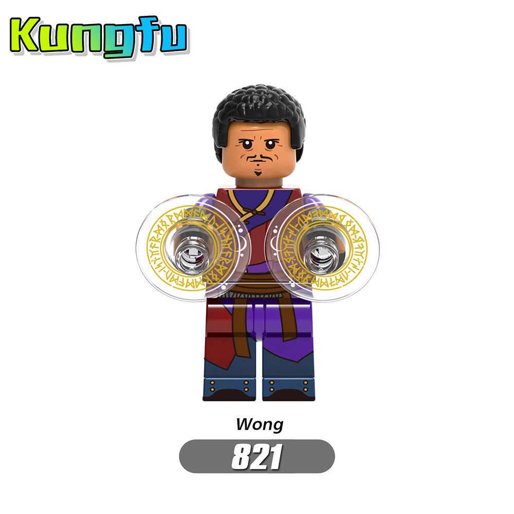 Для Legoing Человек-паук супер герои Тор Железный человек Локи Дэдпул Веном паук Гвен человек Бэтмен Мстители Строительные блоки игрушки экшн
