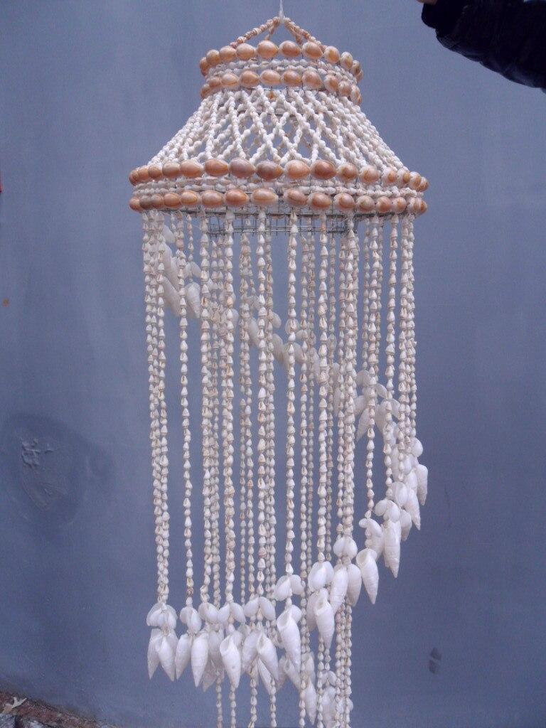 Ракушка в виде раковины, колокольчики, подвесные украшения, креативная дружба, подарок на день рождения, украшение для двери, Средиземноморское украшение для дома - 2