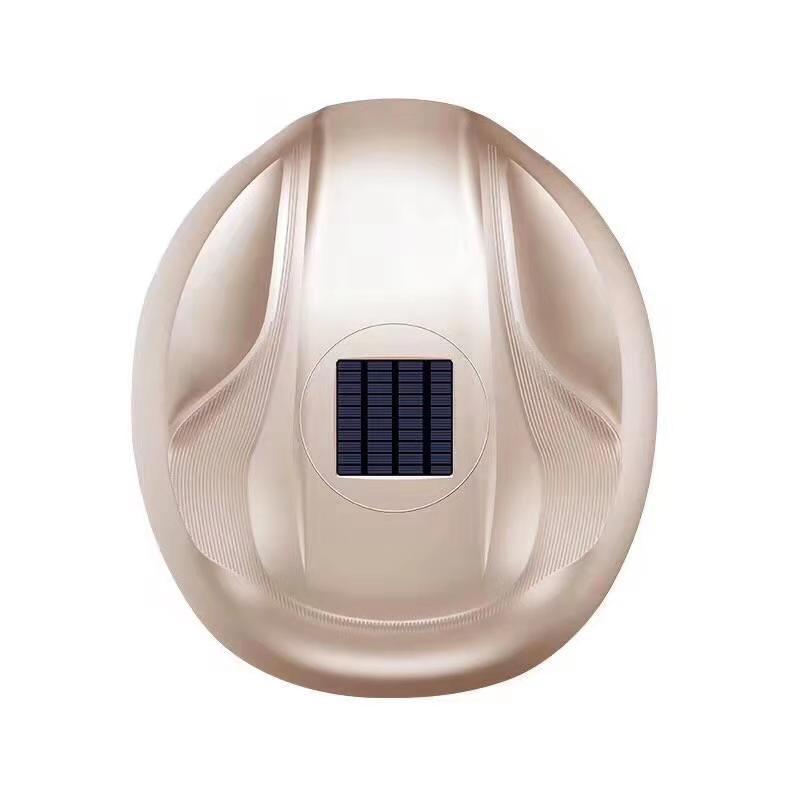 Nouveau type bâche de voiture automatique d'énergie solaire, contrôle intelligent, prévention du cambriolage, matériau de résine ABS polypâques xzd01