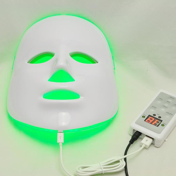 New 3 Color LED Facial Neck Mask LED Photon Mask Wrinkle Acne Removal Skin Rejuvenation Face Beauty Spa 2016 new 4 color led facial mask photon skin care beauty machine spa pdt therapy skin rejuvenation acne remover anti wrinkle