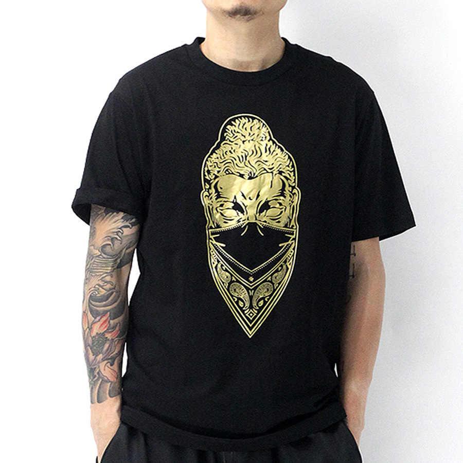 Уличная футболка для мужчин короткий рукав новый летний психоделический забавные футболка Эркек ужас Джокер Harajuku Camisetas Hombre Топы корректирующие G5G723